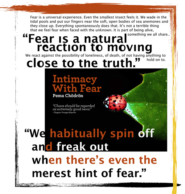 tryst with fear