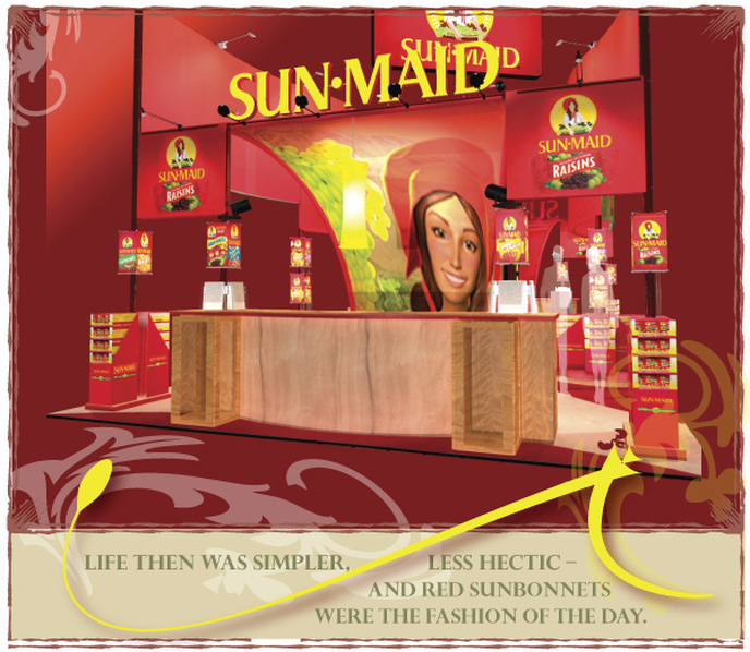 SunMaid, award winning design